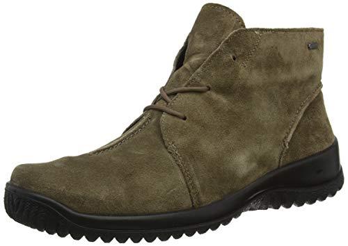 Legero Halb fango 37 Para Softboot 37 Marrón Cordones Derby Zapatos De Mujer OfOSZrq
