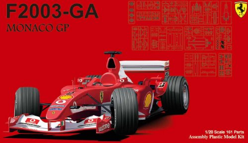 Ferrari F2003 Ga - 1/20 Ferrari F2003-GA Monaco GP (Model Car)