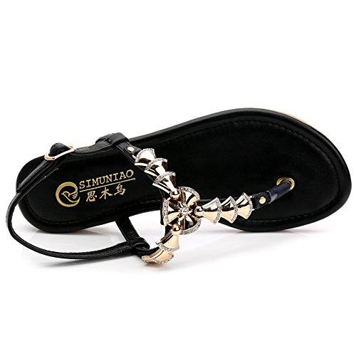 SUNAVY - Zapatos con tacón Mujer negro