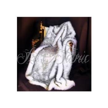 Amazon Com Artofabric Faux Fur Throw Blanket Rugs Siberian Husky
