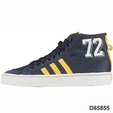 detailed look 3b5ec 5e4f3 adidas Nizza Hi, Hi-Top Sneakers Herren, Blau - Bleu - Blau (