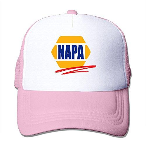 adult-napa-car-racing-automotive-parts-adjustable-mesh-hat-trucker-baseball-cap-pink