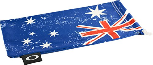 Oakley Microclear Microbag Sunglass Accessories - Australia Flag / One - Lenses Replacement Australia Oakley Sunglasses