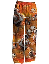 Star Wars BB8 Deep Thoughts Adult Pants, X-Large