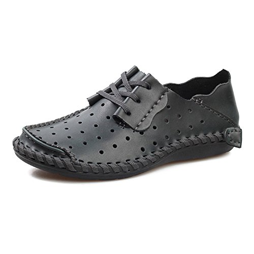 Business Black Trous HGDR Wedding Plates Cuir Mens Office Chaussures Casual Respirant à D'été Chaussures en Lacets ppZwqzxf