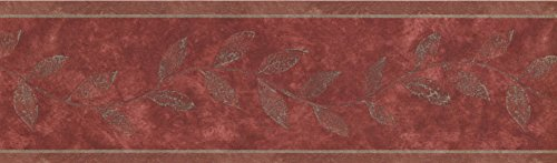 (Wallpaper Border - Floral Prepasted Wall Border 79277 NTX)