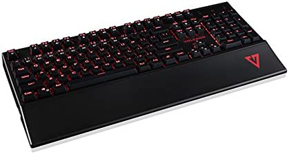 Modecom 00085 Gaming Mecánica Teclado Volcano Gamer (Blue Switch) US Layout