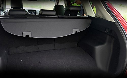 for Mazda CX5 CX-5 2017-2018 2019 Black Interior Retractable Rear Trunk Cargo Luggage Cover Security Shade