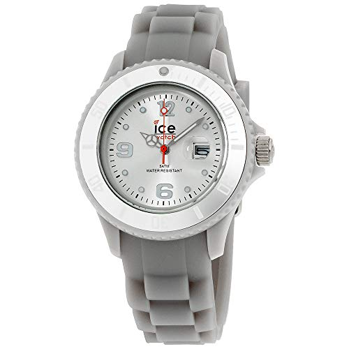 Ice-Watch Women's SISRSS09 Sili Collection Silver Dial Watch