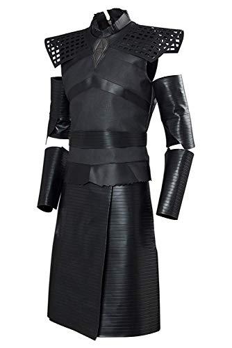 starfun GOT Game Night King Thrones Cosplay Costume Outfit Leader of The White Walkers Suit (Small, Male)]()