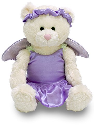Cuddle Barn 12″ Musical Felicity Fairy in Purple Dress and Wings – Plays Fairy Music