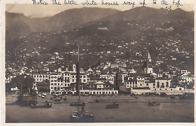 - E7363 Madeira, Waterfront View Photo Postcard