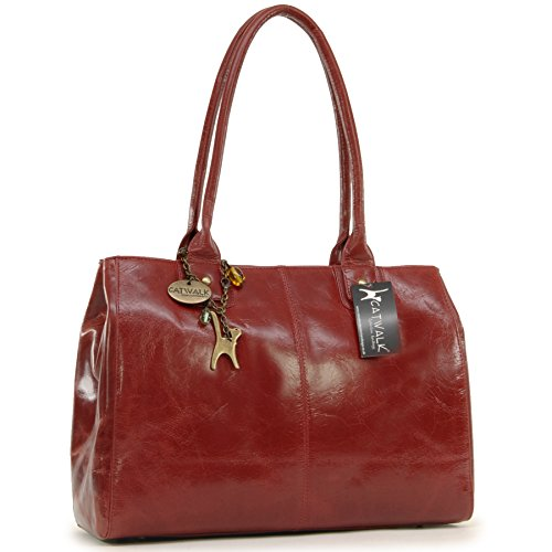 Red Totes Womens Collection Catwalk Kensington Handbags CXwvUxqg