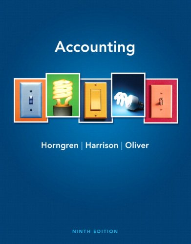 Accounting and MyAccountingLab Course Student Access Code Card Package (9th Edition)