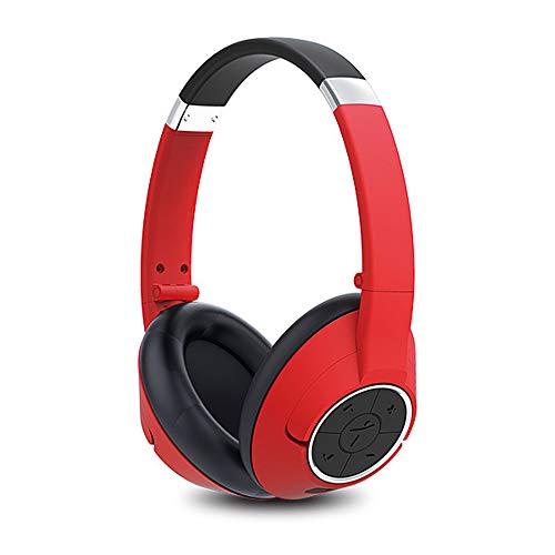Genius Bluetooth Headset - Genius Genius Red HS-930 BT Wireless Bluetooth V4.0 Headset, Red