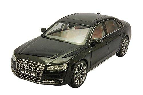 1:18 Kyosho 2014 Audi A8 L W12 FSI Phantom Black