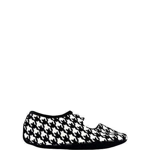 NuFoot Mary Janes Damenschuhe, beste faltbare und flexible Wohnungen, Reise- & Übungsschuhe, Tanzschuhe, Yoga Socken, Hallenschuhe, Hausschuhe Hahnentritt