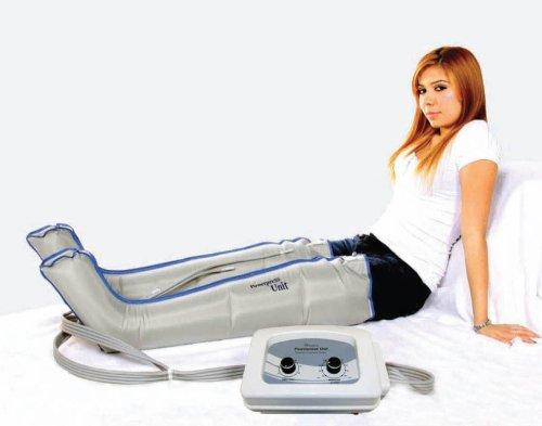 Air Sequential Compression Leg Massager - (XL) Full, Half...