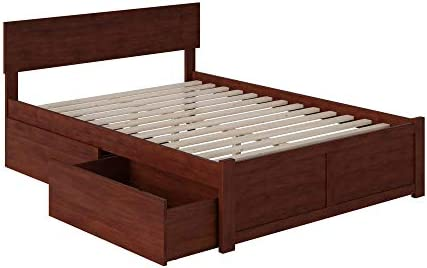 Atlantic Furniture Orlando Platform 2 Urban Bed Drawer