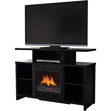 Amazon Com Decor Flame Media Electric Fireplace For Tvs Up To 37