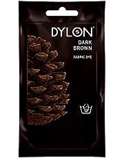 Dylon,Tinta in Polvere, Blu Bahama, Dark Brown, 10x14x7.8 cm