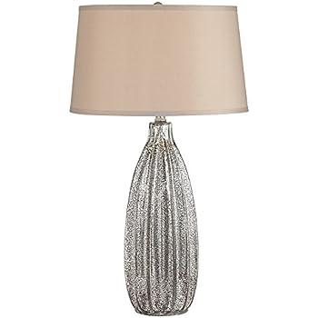 Stella 30 Quot High Fluted Mercury Glass Table Lamp Amazon Com