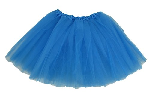 [Hairbows Unlimited Turquoise Dance or Ballet Tutu for Girls Tutu Skirts] (Homemade Children Costumes)