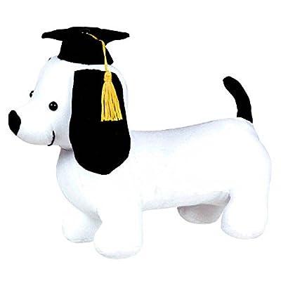amscan Grad Fabric Pup Autograph Plush | Party Favor: Toys & Games