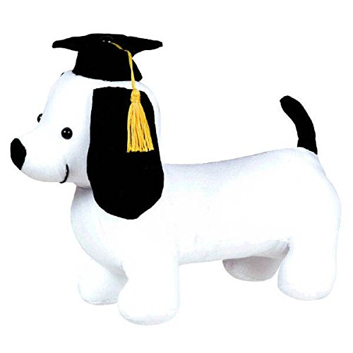 amscan Grad Fabric Pup Autograph Plush | Party Favor