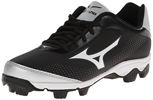 Mizuno Dames Finch Franchise 5 Softbal Schoenplaat Zwart / Wit