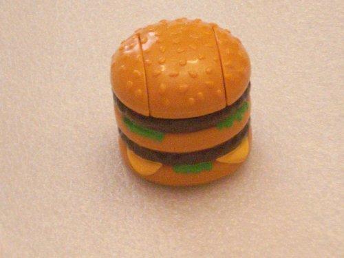 McDonalds Happy Meal New Food Changeables Set 3A - Macro Mac - 1988
