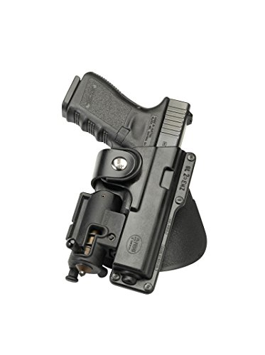 (Fobus EM19 Paddle Left Hand Passive Retention Tactical Holsters S&W SD9VE)