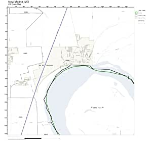 C digo postal pared del mapa de nueva madrid mo c digo for Oficinas del inem en madrid por codigo postal