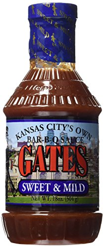 Gates Bar-B-Q Sauce (Sweet & Mild) (Barbeque Sauce Mild)