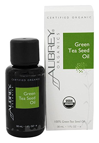 Green Tea Seed Oil Aubrey Organics 1 oz Bottle