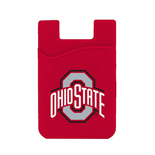 Ohio State Buckeyes Silicone Card Keeper Phone (Ohio State Buckeyes Pocket)