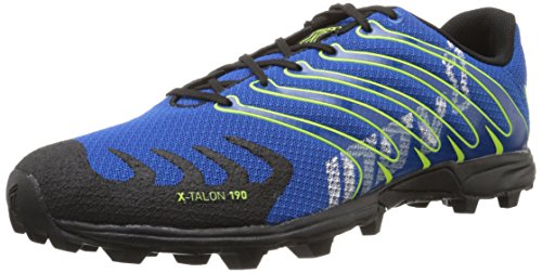 Inov-8 X-Talon 190 Blue/Blk/Yellow-U, Black, 8 M US