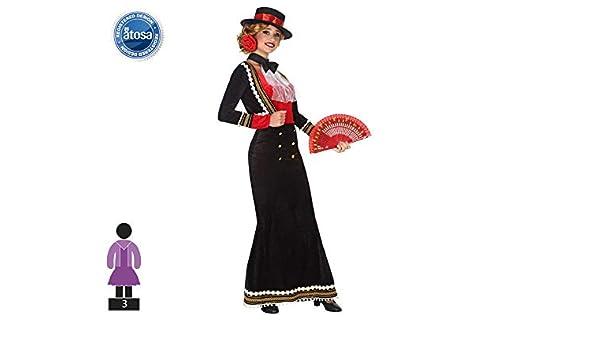 Atosa 53865 Disfraz Cordobesa XL Mujer Negro, Color: Amazon.es ...