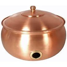 Copper Hose Pot With Lid