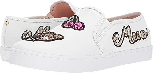 Kate Spade New York Donna Lizbeth Slip Slip Su Sneakers Bianche Nappa