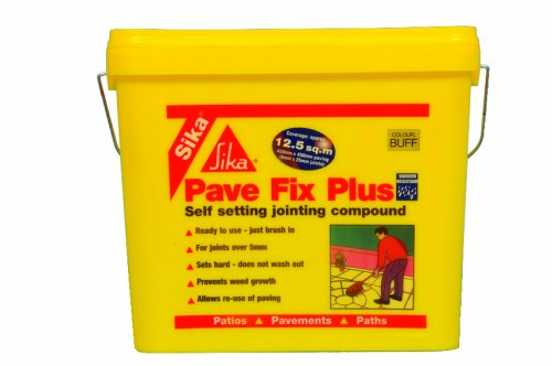 SIKA FAST FIX ALL WEATHER PAVE SELF SETTING PAVING JOINTING COMPOUND GREY 14KG