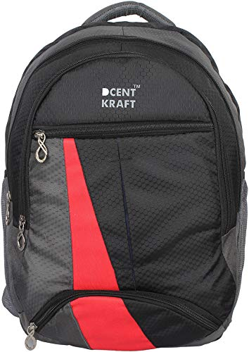 DCENT KRAFT Waterproof Laptop Blue Backpack For Boys  amp; Girls  5 Compartments
