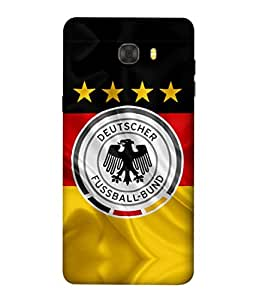 ColorKing Football Germany 16 Multicolor shell case cover for Samsung C7 Pro