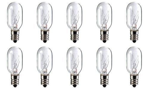 - CEC Industries #20T-7 C 130V Bulbs, 130 V, 20 W, E12 Base, T-7 shape (Box of 10)