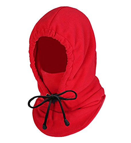 Oldelf Tactical Heavyweight Balaclava Outdoor Sports Mask (Red)