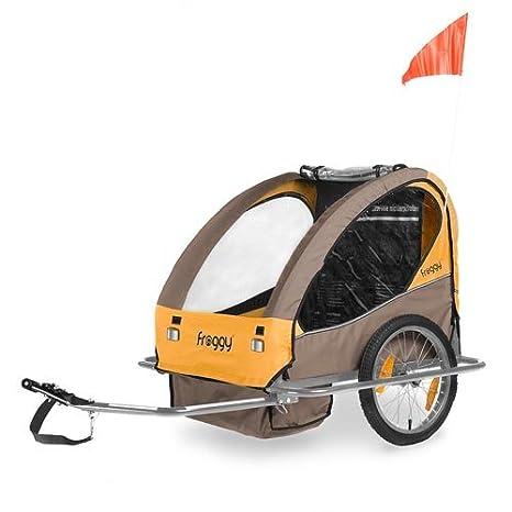 Froggy® BTC05 - Remolque de bicicleta, para niños Valencia: Amazon.es: Bebé