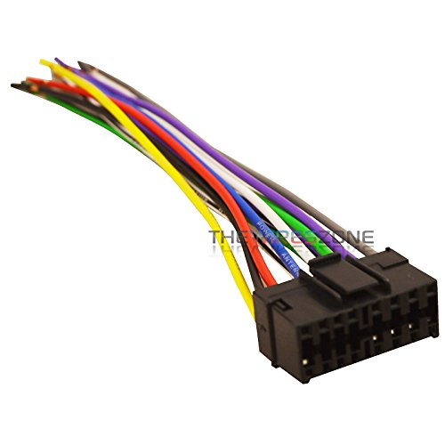 41wOuatqTsL amazon com 16 pin car radio stereo replacement wiring harness for Boss BV9976 Manual at n-0.co