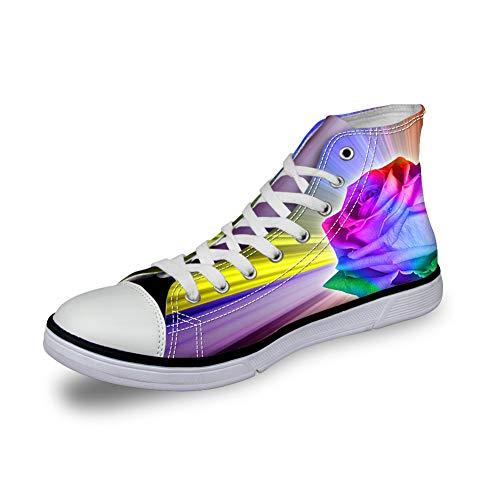 徹底的に算術共産主義者ThiKin スニーカー レディーズ 個性的 3Dプリント カジュアル 靴 シューズ 人気 おしゃれ 軽量 通気 ファッション 通勤 通学 プレゼント メンズ