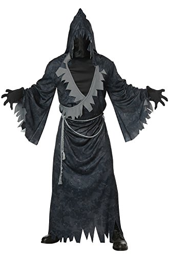 California Costumes Men's Soul Eater Adult Man, Black/Gray,