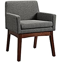 Dorel Living Mid-Century Chair - Gray, Arm Chair